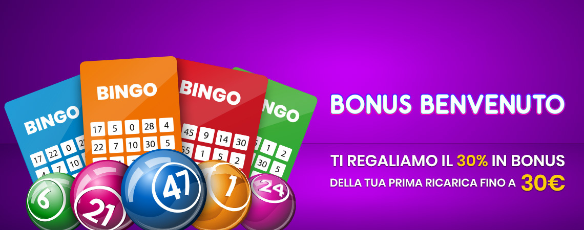 Scommettendo, Bonus Benvenuto Bingo