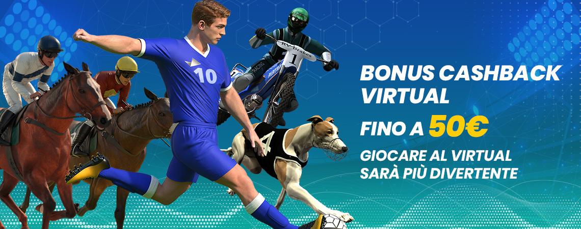 Scommettendo, Benvenuto Sport Virtuali